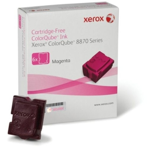 Xerox ColorQube Ink pro 8870 magenta (6 STICKS), DMO (17 300str.)